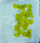 DAN ROACH The Majority Wall, 2012, oil and wax on canvas, 90 x 100cm