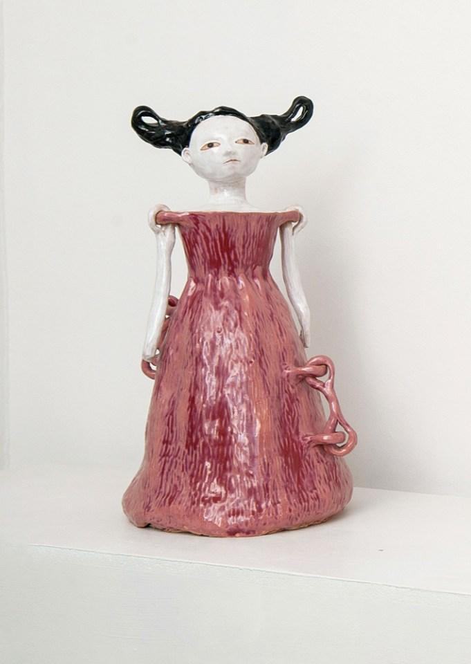 DENISE DE CORDOVA aka Amy Bird, Shackle Anne, 2010, Stoneware, 54.5 x 29 x 33 cm