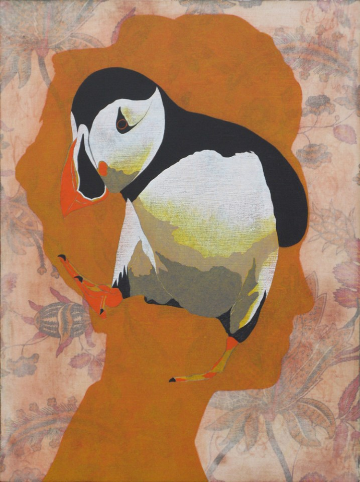 JAMES FISHER Pickersgill, 2014, oil on panel, 40 x 30cm