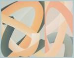 JULIA FARRER Study I, 2015, acrylic on birch ply, 44 x 58cm