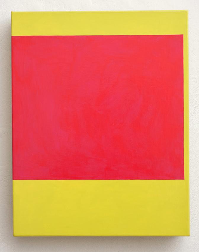 KEVIN FINKLEA Drift 7, 2003, Nardil acrylic on canvas, 36 x 28cm