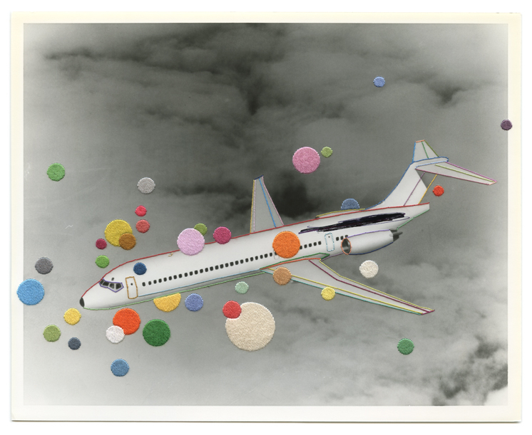 Current Exhibition: Migrations 2 February - 3 March 2017 Image: Julie Cockburn, Aeroplane, 2016