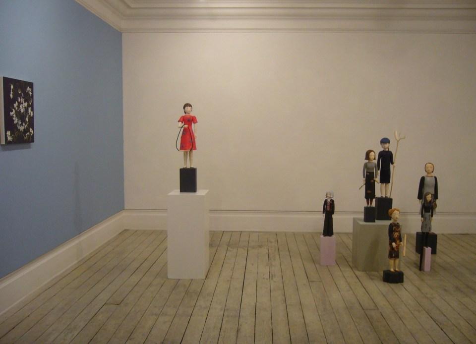 Wunderkammer, 2017 Installation view showing Denise de Cordova