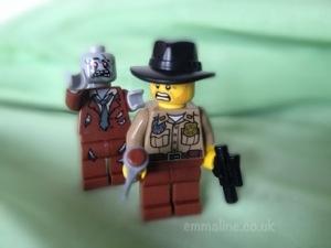 the walking dead lego rick zombie