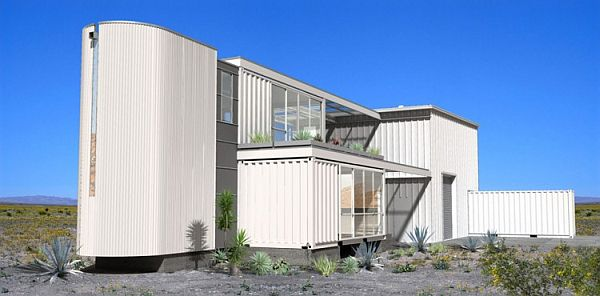 Container-House-in-Mojave-Desert-1