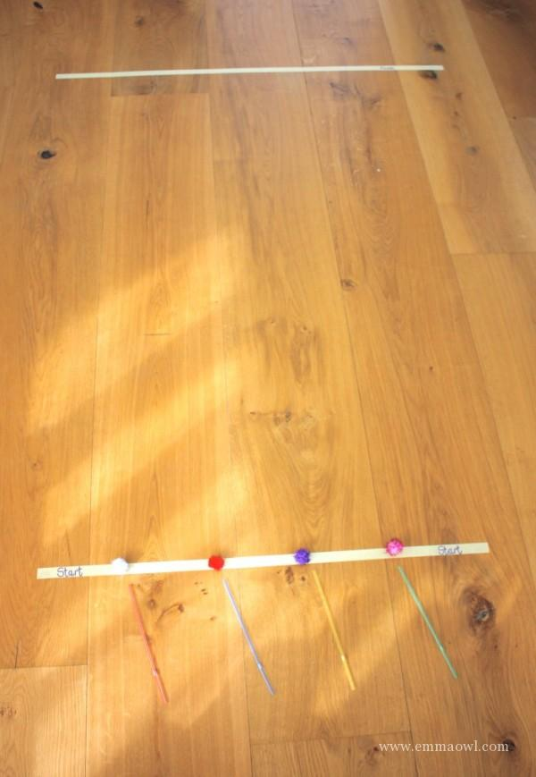 Pom Pom Racing - Kids Activity