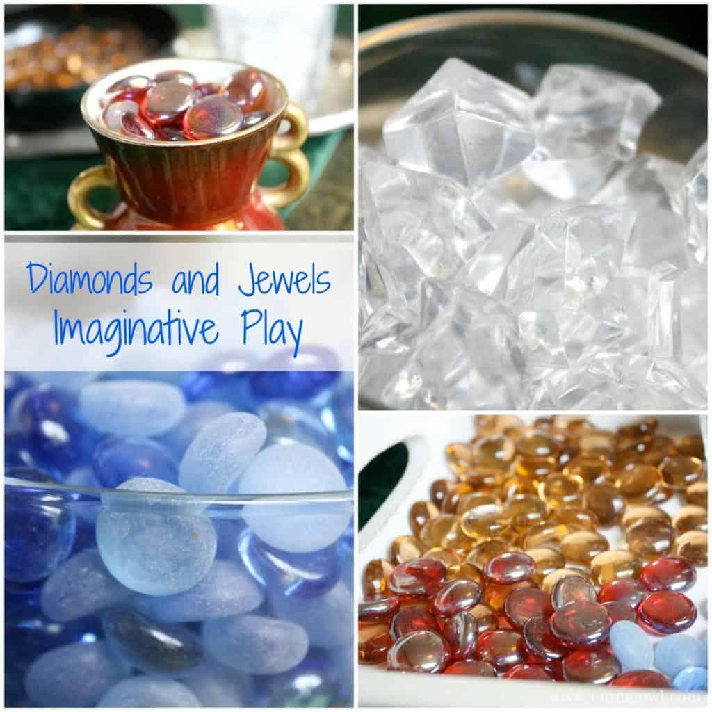 Diamonds and Jewels Imaginative Play