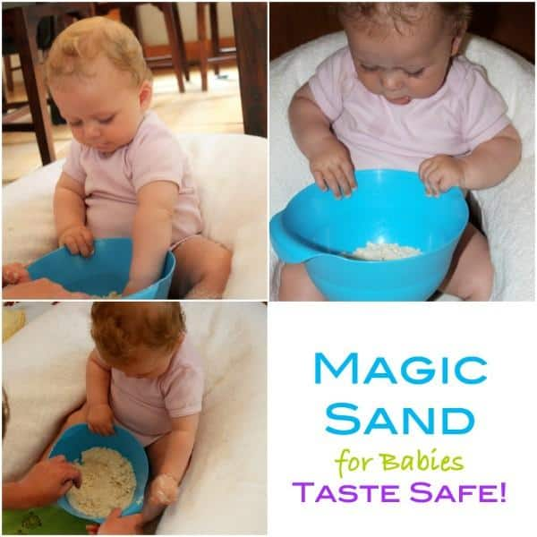 Taste Safe Magic Sand for Babies