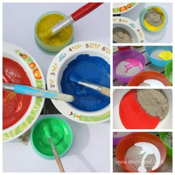 Making Sand Paint