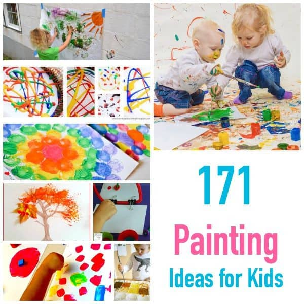 171 Painting Ideas - Techniques and Projects for Kids - PELITABANGSA .CA