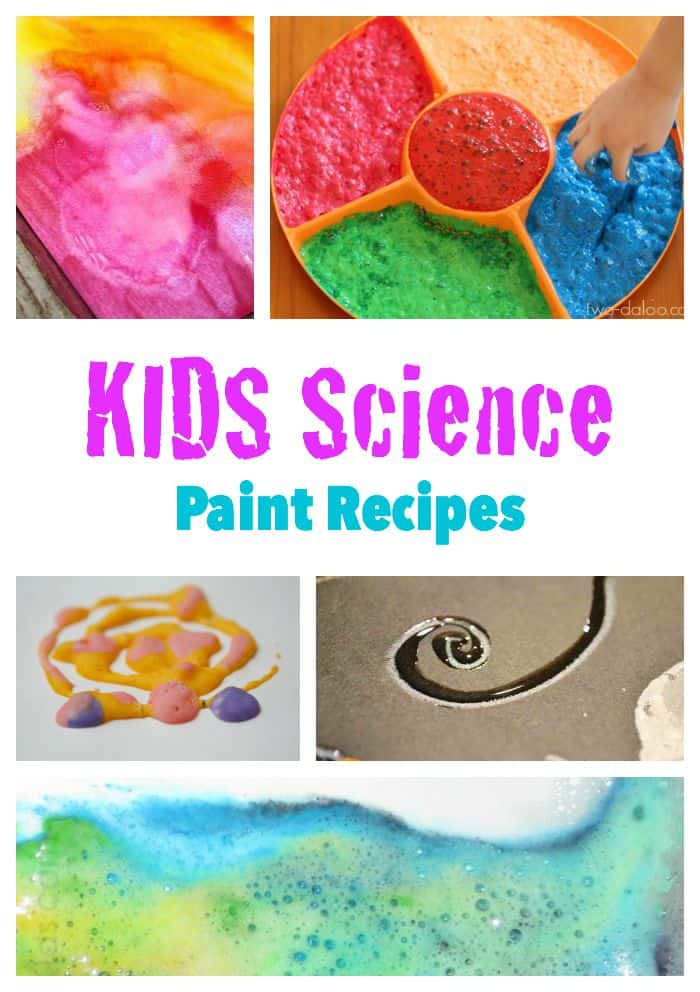 Looking for paint that goes wow - these recipes are based on science and are sure to impress!