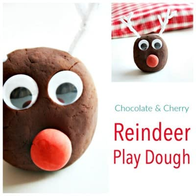 Chocolate Play Dough - For the perfect Kids Christmas Activity