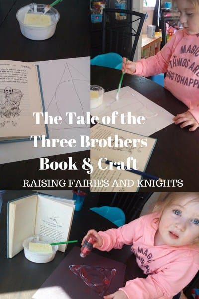 The-Tale-of-the-Three-Brothers-Book-Craft-how-to