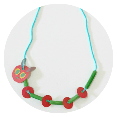 neckless hungry caterpillar