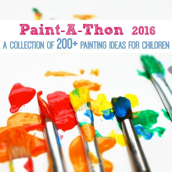 2016 paintathon a collection of 200 painting ideas for children - Children Painting Images