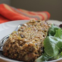 Leek, Mushroom & Cashew Roast {Vegan}