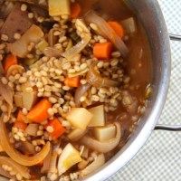 Vegetable & Barley Irish Stew