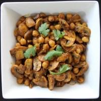 Mushroom & Chickpea Curry