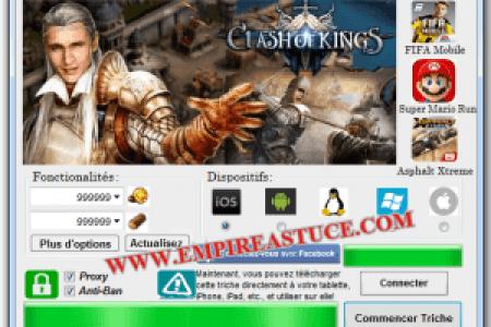 clash of kings triche astuce or et argent illimite gratuit 300x262