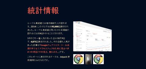 アニュアルレポート2014-統計情報