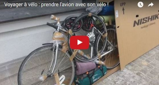 Vidéo bonus : «Prendre l'avion avec son vélo»