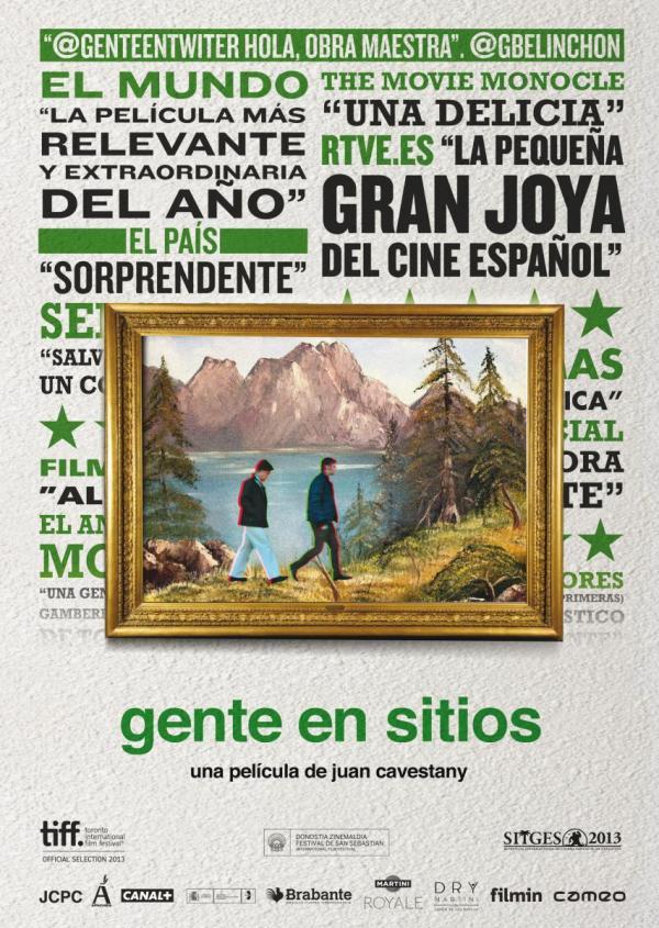 Gente en sitios (2013) de Juan Cavestany