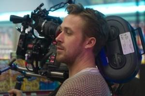 Ryan Gosling en el rodaje de Lost River