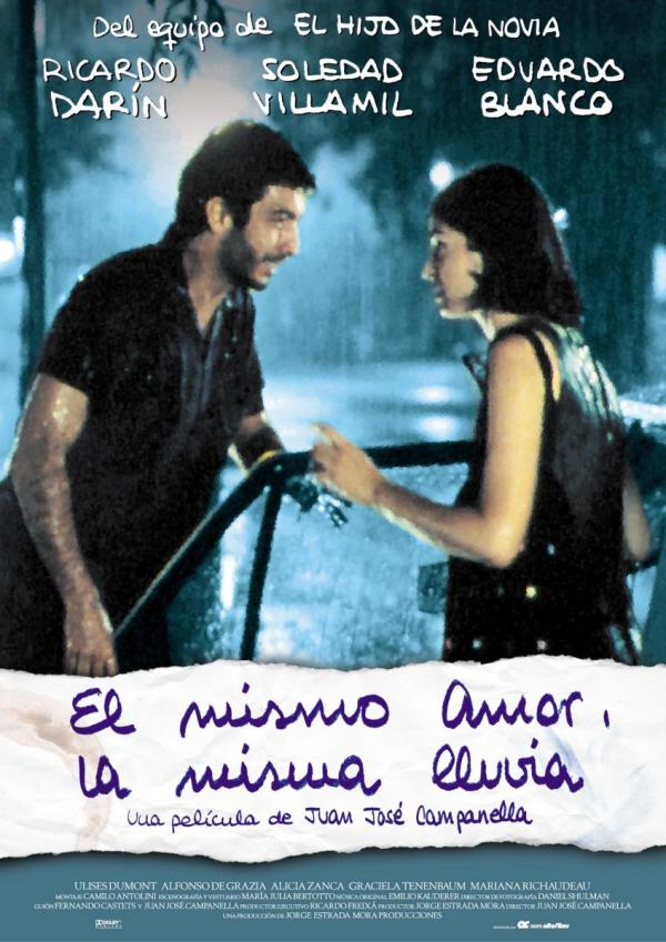 El mismo amor la misma lluvia (1999) de Juan José Campanella