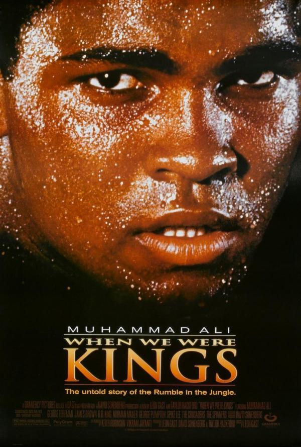 When we were kings: cuando éramos reyes (1996) de Leon Gast