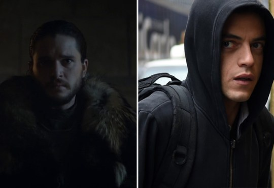 Game of thrones vs. Mr. Robot
