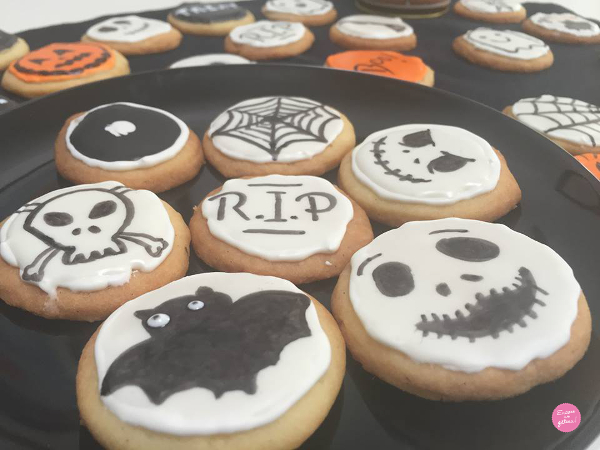 Les biscuits d'Halloween