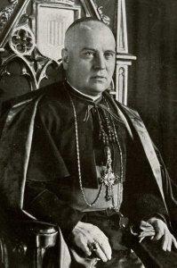 MonseñorDoctor Manuel Irurita Almandoz, obispo de Barcelona y mártir de Cristo.