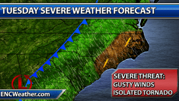 Severe Weather Threat Next Week