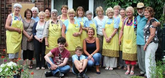 Marie Curie helpers and supporters