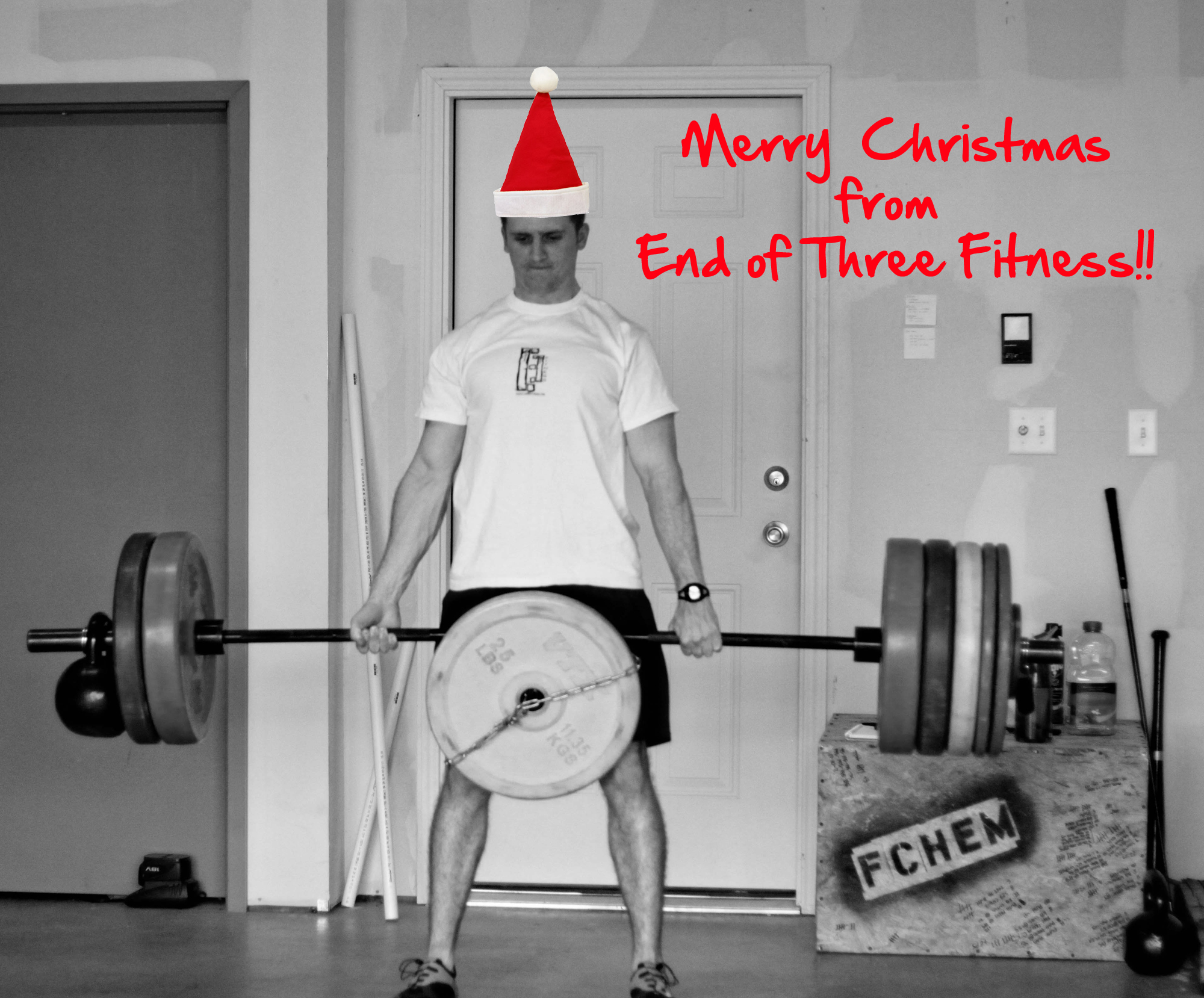 Merry christmas from end of three fitness