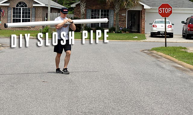 How to Build a Slosh Pipe