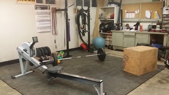 Froning garage gym