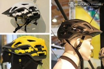 Après avoir dévoilé l'an passé ses casques VTT XC, Mavic présente aujourd'hui son casque Notch dédié aux pratiques AM/Enduro. Disponible en trois coloris