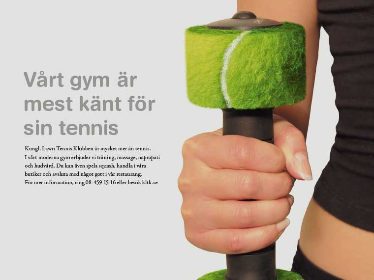 Kampanj för Kungl. Lawn Tennis Klubben