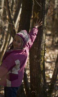 activité gratuite enfant nature hiver