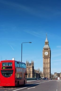 London Buses with Big Ben visite londres enfant famille activité voyage