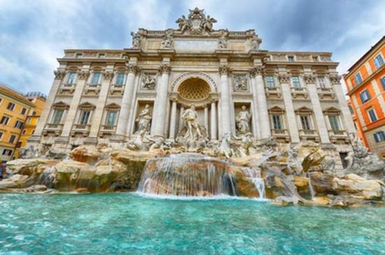 Fontaine-Trevi-Rome
