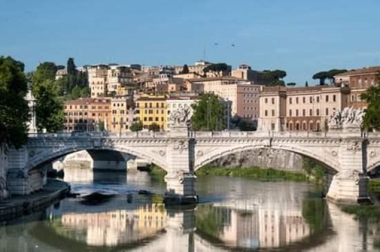 Quartier Trastevere à Rome, Italy