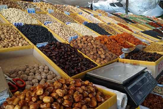 Kirghizistan-marché