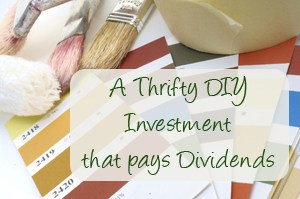 thrifty diy investment that pays dividends