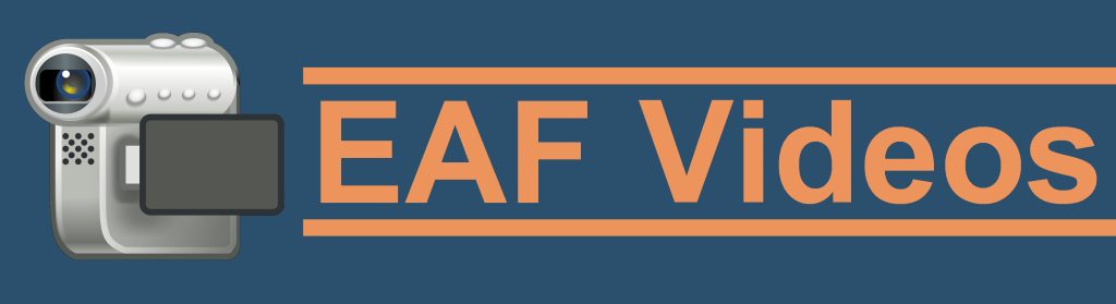 EAF Videos Logo for the EAF Videos Page.