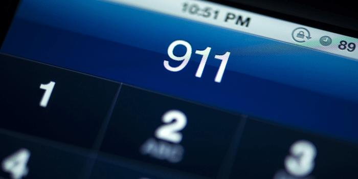Call 911/the police if you are being followed or in a really bad situation.