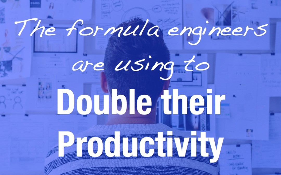 Here is the formula that engineers are using to double their productivity