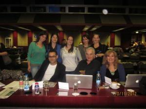 Kristina Cvetković, Marija Lukač, Ivana Milošević, Borislava Jovanović, Luke Meddings, Ken Wilson i Marisa Constantinides