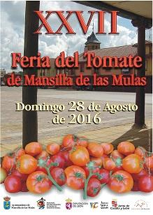 cartel   feria tomate 2016 mansilla